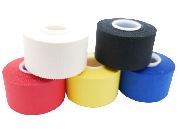 Tape unelastische Pflasterbinde 3,75 cm x 10 m in 5 Farben erhältlich