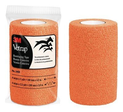 3M™ VetRap™ Tierbandage selbstklebend 18 Rollen Packung (stretch)